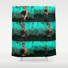 Survivor united Shower Curtain