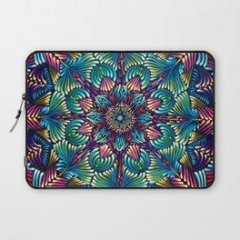Kaleidoscopic Mandala Laptop Sleeve