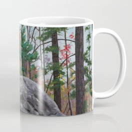 Rock at Livingston Park Coffee Mug