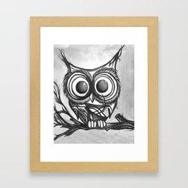 Hiboux Framed Art Print