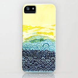Seigaiha Series - Embrace iPhone Case