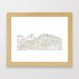 BLEACHED CLOWNS Framed Art Print