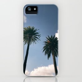 Los Angeles California Palm Tree Dream iPhone Case