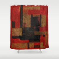 sagittarius Shower Curtains featuring Sagittarius by Fernando Vieira