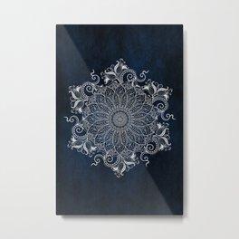 Artic Mandala Metal Print