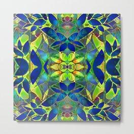Floral Fractal Art G373 Metal Print