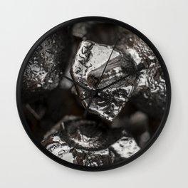 Metal Tricone Drill Bit Wall Clock