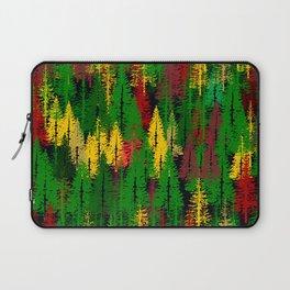 autumn fir forest Laptop Sleeve