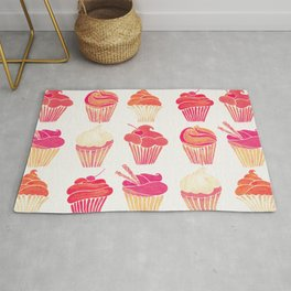 Cupcake Collection – Pink & Cream Palette Rug