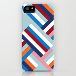 Herringbone Pattern iPhone Case