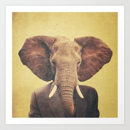 Humanimal: Elephant Art Print