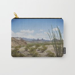 Mule Ears in Big Bend National Park, Texas Carry-All Pouch