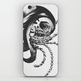 chained with beauty iPhone Skin