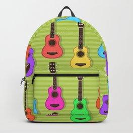Fun colorful Ukuele Pattern Backpack