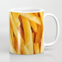fries Mugs featuring Fries by Maioriz Home