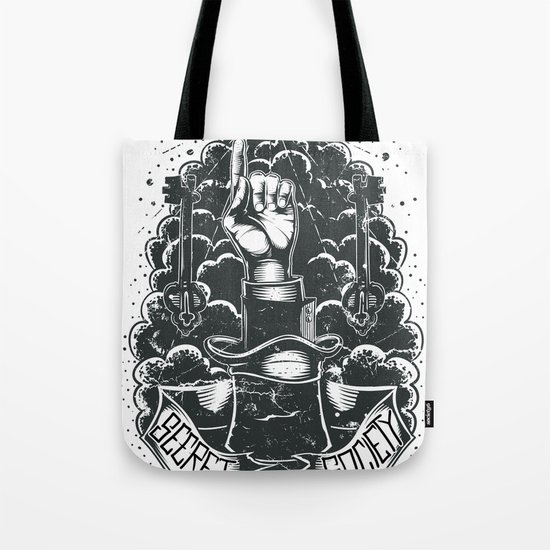 Secret society key Tote Bag