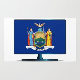 New York Flag TV Rug