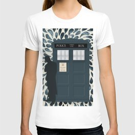 Dr Who and his Timey-Wimey Vehicle T-shirt