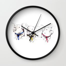 Political Pigs Wall Clock