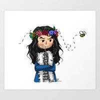 thorin Art Prints featuring Thorin by marvelsoo