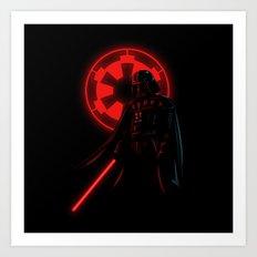 Dark Vader Art Print
