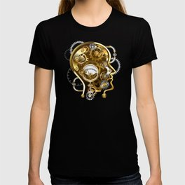 Steampunk Head with Manometer T-shirt