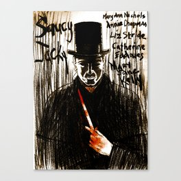 Saucy Jacky Canvas Print
