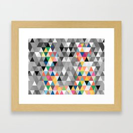 Many colors of being Framed Art Print