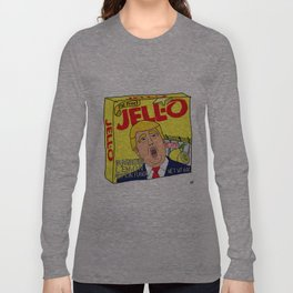 Donald Trump Immigration Lemon Jell-O Art - Single Box Long Sleeve T-shirt
