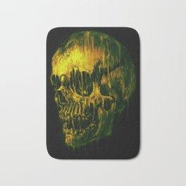 Melting Skull Bath Mat