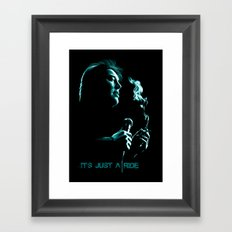 Bill Hicks 1961-1994 – It's Just A Ride Framed Art Print
