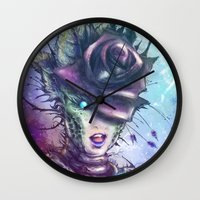 venus Wall Clocks featuring Venus by Vincent Vernacatola