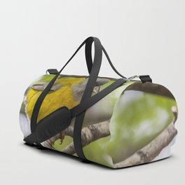 Bird Life In Patagonia. Duffle Bag