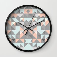 Triangular Pattern Wall Clock