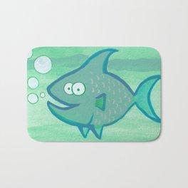Happy Fish!!!! Bath Mat