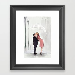 Jacob&Queenie Framed Art Print