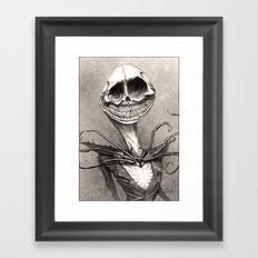 Jack Skellington Framed Art Print