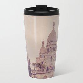 Sacre Coeur Montmartre Paris Travel Mug