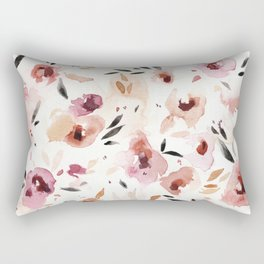 Wild Pansies Rectangular Pillow