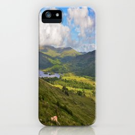 The Black Vally iPhone Case