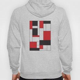 Geometric Abstract - Rectangulars Colored Hoody