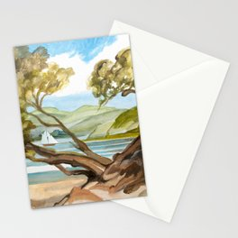 Summer At Coopers Beach Stationery Cards