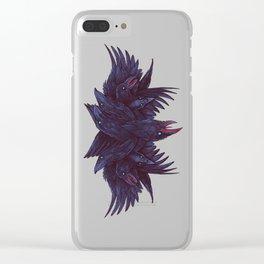 Crowberus Reborn Clear iPhone Case