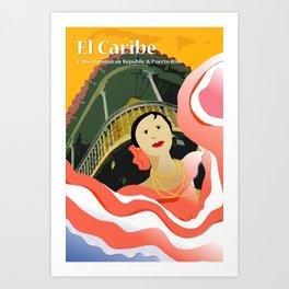 Hispanic Heritage Series - El Caribe Art Print