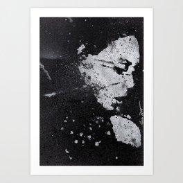 Perfect Pitch Black Art Print