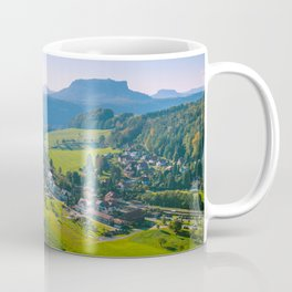 Rathen and the Elbe river Coffee Mug