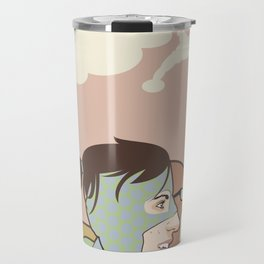 We Could Be Heroes Travel Mug