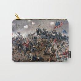 Battle of Spottsylvania by Thure de Thulstrup Carry-All Pouch