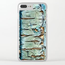 Geometric Urban vintage abstract Clear iPhone Case