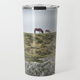 Asturcon, Asturian pony Travel Mug